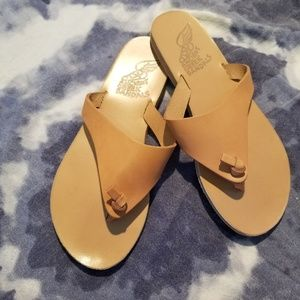 Ancient Greek Sandals 'Igia' Leather Thong Sandal